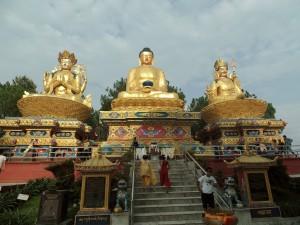 3 gouden buddhas